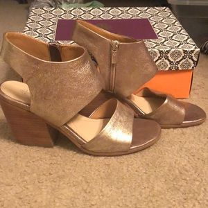 Isola strappy heels- worn once!